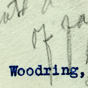 Roosevelt Responds To Woodring Amidst The Intense Congressional Interest In Woodring's Resignation