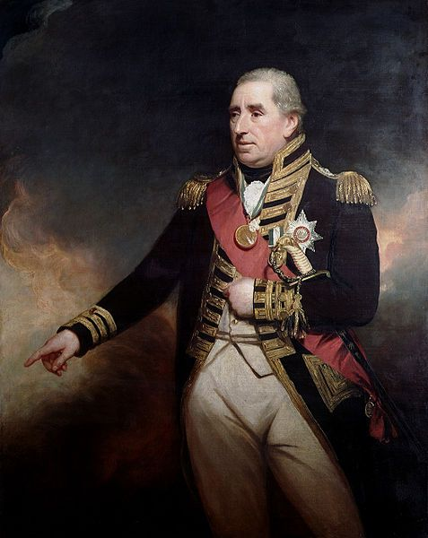 Sir John Thomas Duckworth, 1st Baronet, Admiral of the Blue