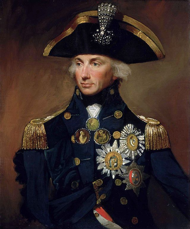 Vice Admiral Horatio Nelson, 1st Viscount Nelson, 1st Duke of Bronte, 1758-1805
