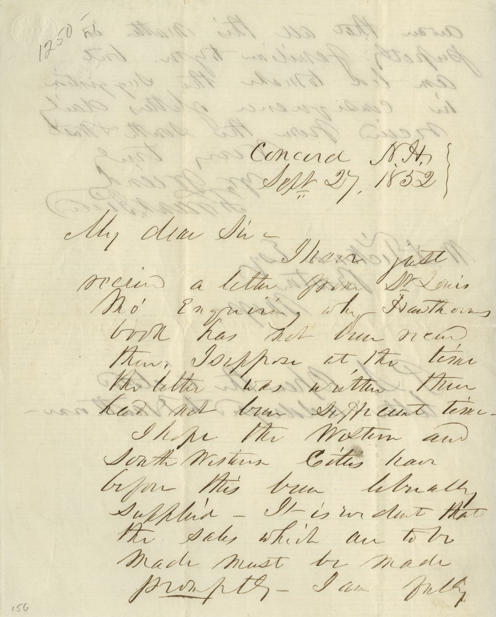 Franklin Pierce Describes Nathaniel Hawthorne's Last Night Alive on Their Trip to New England