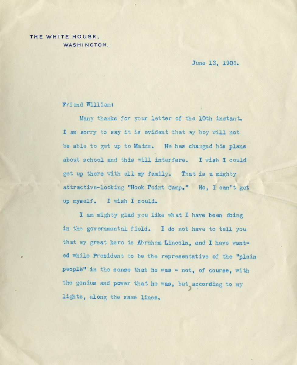 "Senator Benjamin Harrison on Writing about the ""Illustrious Lincoln"""