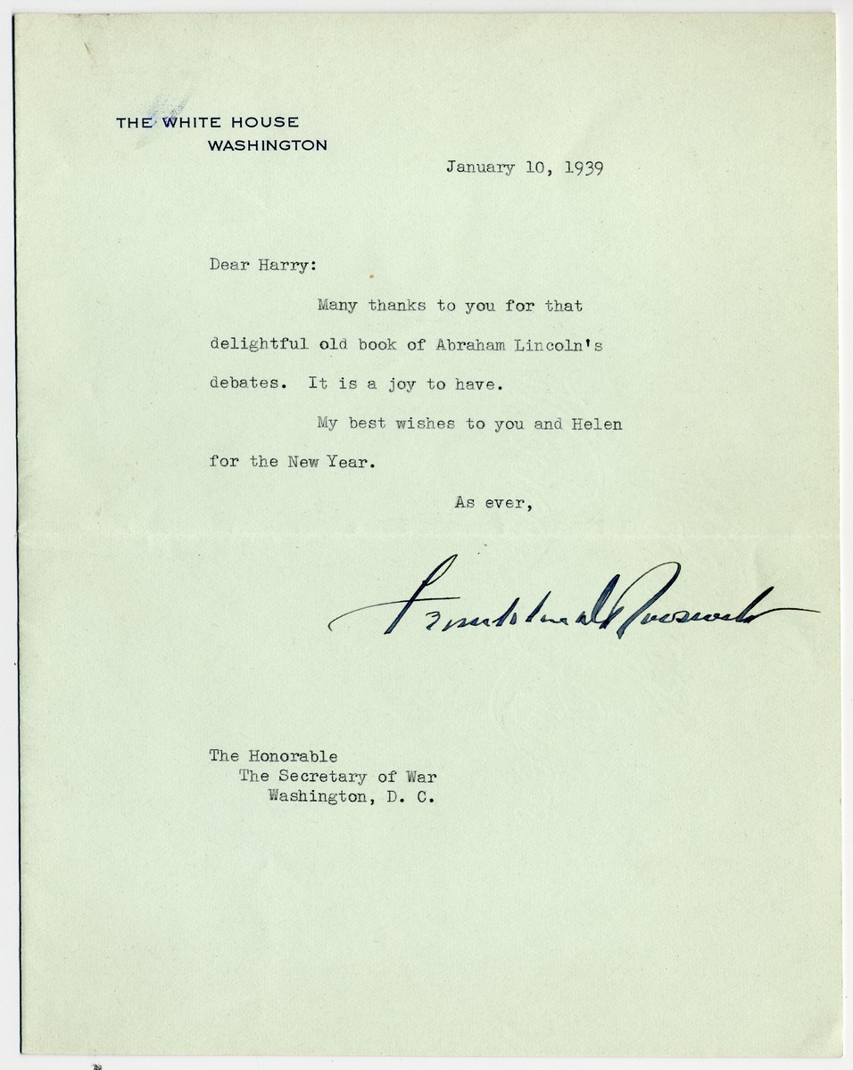 FDR Assures Fired, and Fired Up, Isolationist Secretary of War: No War Unless Monroe Doctrine is Breached