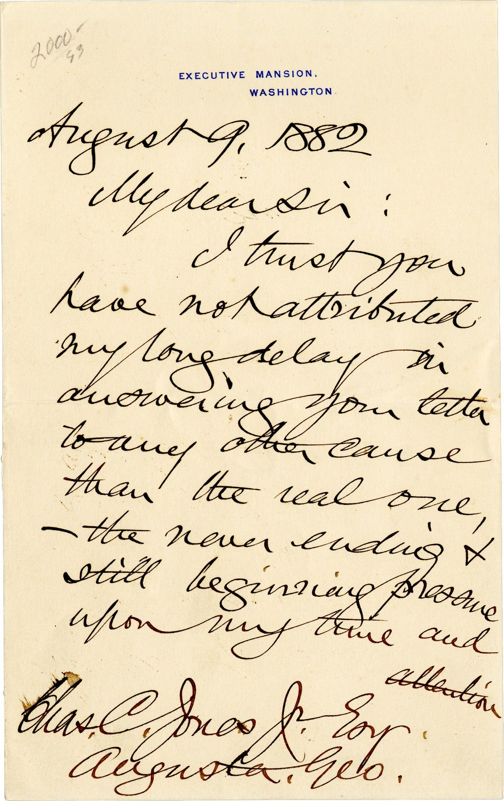Grover Cleveland Complains of an Avalanche of Unwelcome Invitations, As He Plans a Pleasure Trip Out of Town