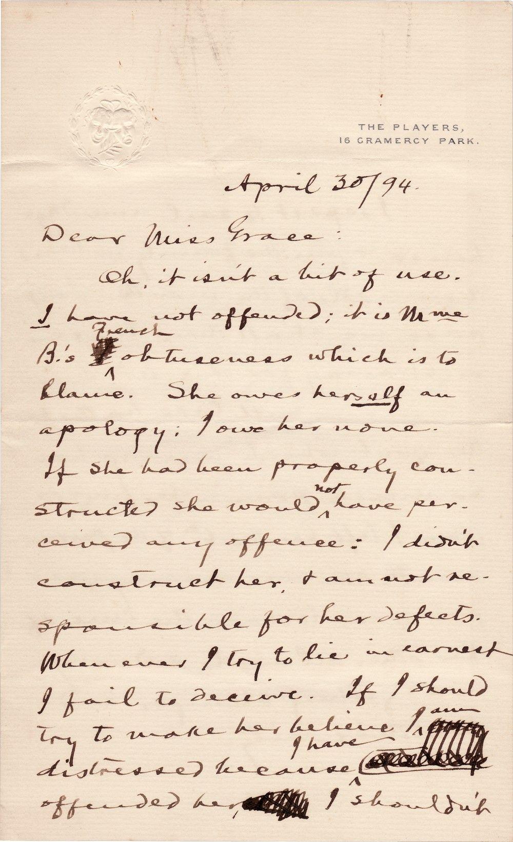 Mark Twain on the French: No Humor, No Depth, No Compass, No Balance, No...