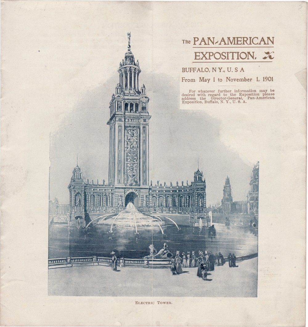 One of the Last Things Signed by William McKinley: A Souvenir Booklet from the Pan-American Exposition