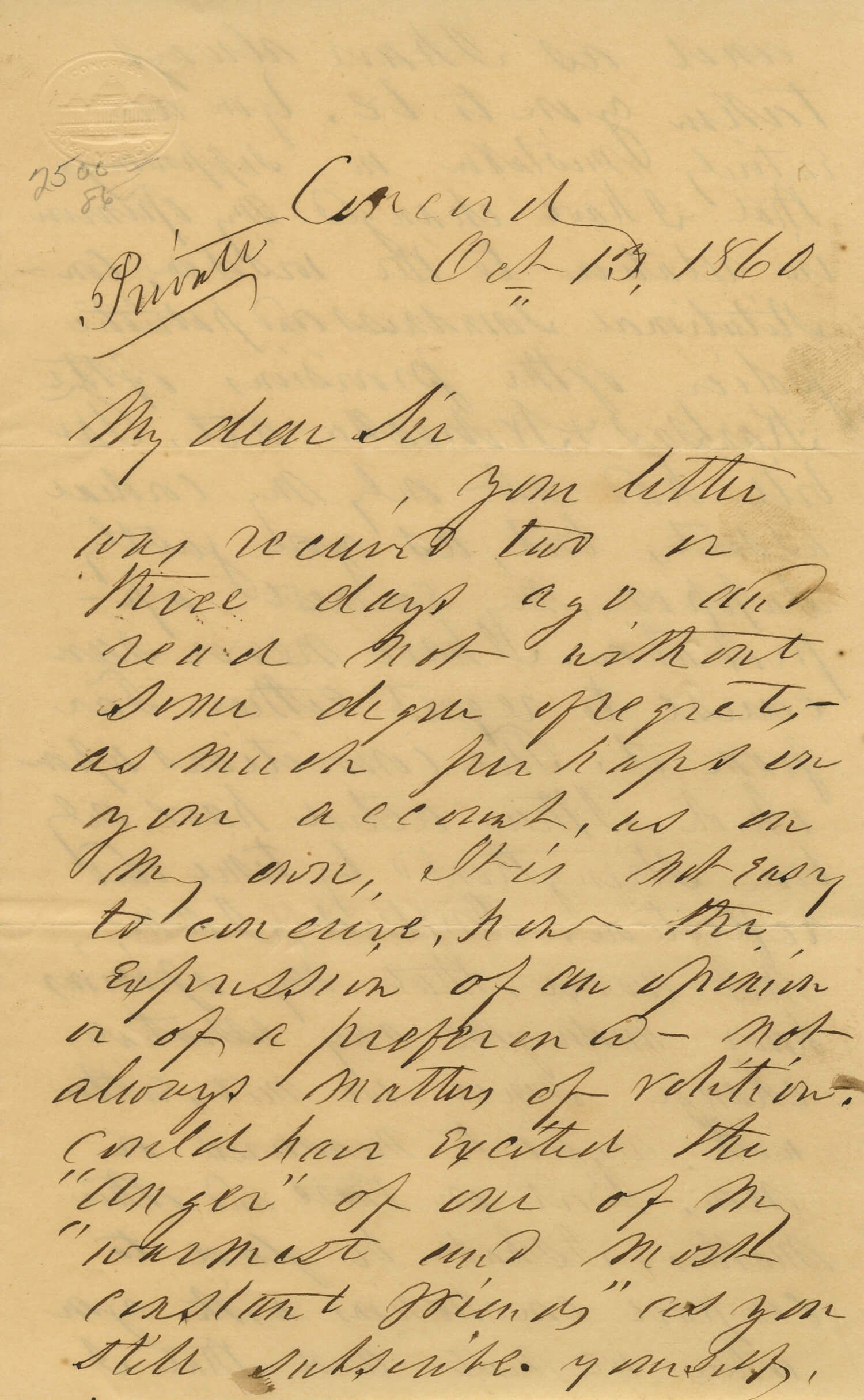 On the Eve of Rebellion, Pierce Still Defends the Kansas-Nebraska Act
