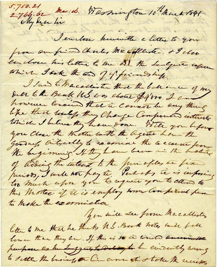 The Ultimate Presidential Rarity: An Autographed Letter of the Sick, Soon to Die, William Henry Harrison