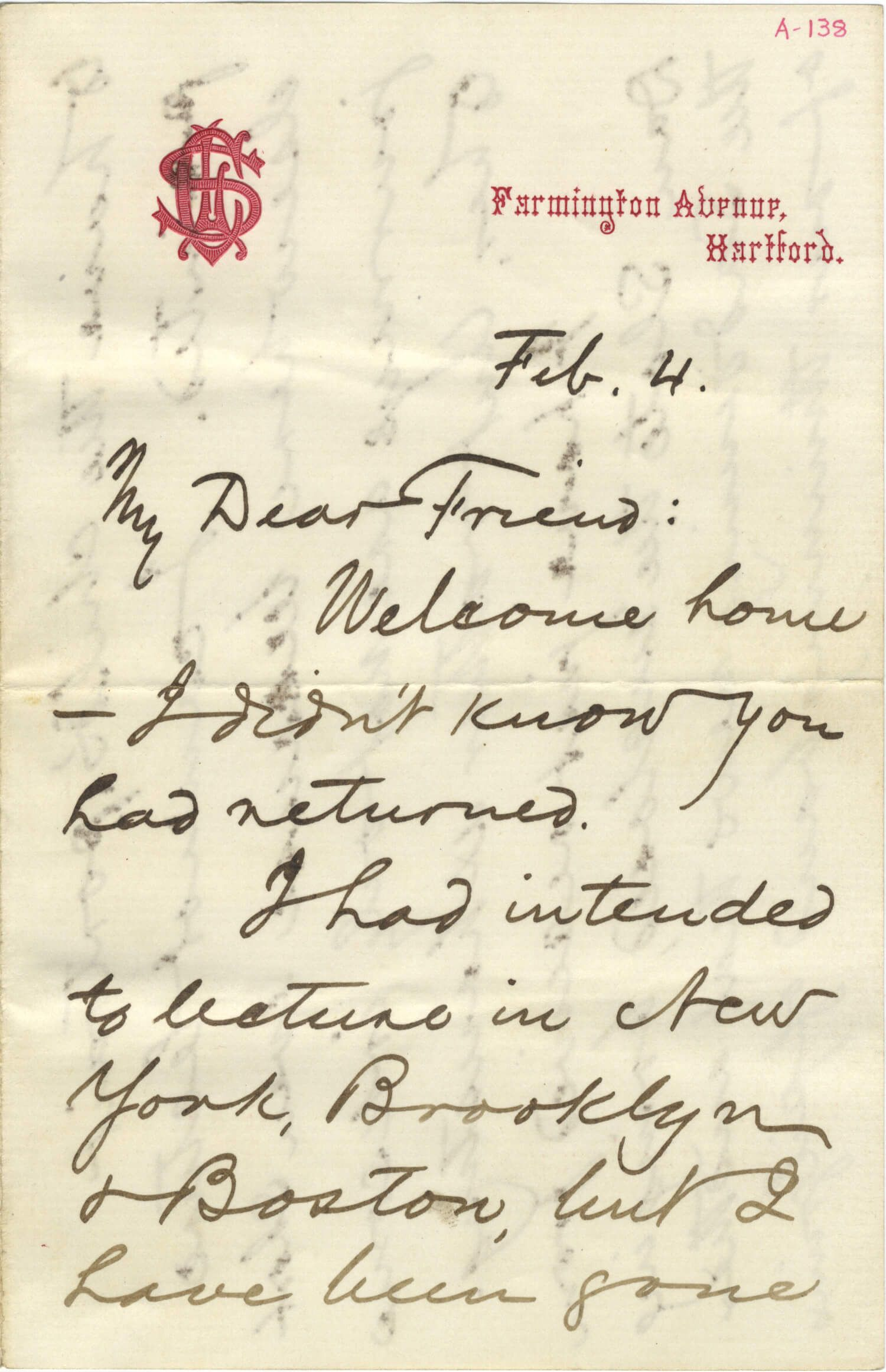 "Mark Twain Mourns an ""Innocents Abroad"" Companion"