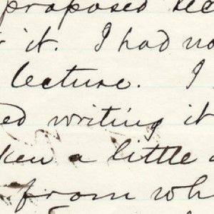 Mark Twain Names His Lecture Tour About Holy Land Trip: