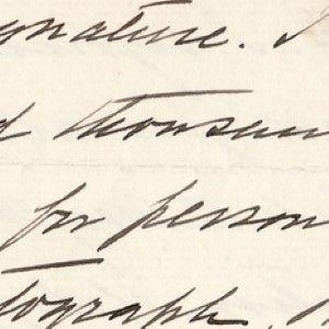 Former President William Howard Taft Rejoices in Averting Another Run: