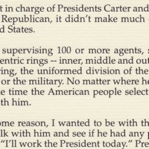 A Secret Service Agent's Account of the Reagan Assassination Attempt, Signed by Reagan
