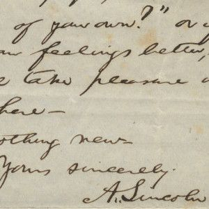 Abraham Lincoln Arranges for the Anonymous Publication of His Famous Poem