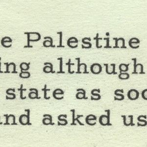 Truman on the Recognition of the Jewish State and the