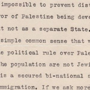 Einstein on Zionism: He is for a Jewish Homeland, But Not a Separate State