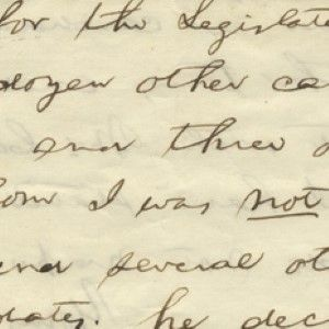 Abraham Lincoln Reviews His Won-Lost Record in Electoral Politics Up to 1849