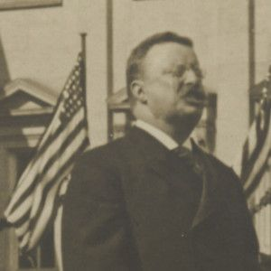 Theodore Roosevelt Inscribes Photo of His 1905 Inaugural Address With His Keystone