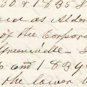 Andrew Johnson Writes His