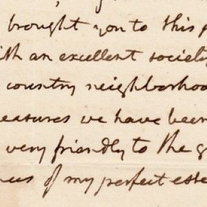 Thomas Jefferson Describes the White House as