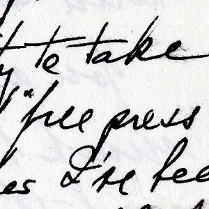 Harry Truman, From His Place of