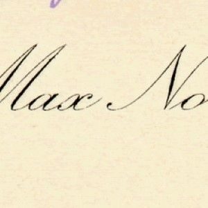 Max Nordau Sends New Years Greetings to Viennese Writer and Translator Paul Tausig