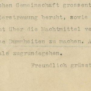 Albert Einstein Disagrees with Louis Brandeis; Argues that Palestine is Not the Key to Jewish Survival