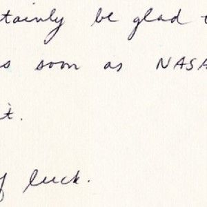 Autograph Letter of Astronaut Judy Resnik-Killed in the Challenger Disaster-About Autographs
