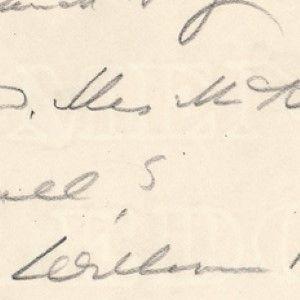 President William McKinley Wires Ailing Vice President Garret Hobart