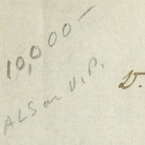 Rare Letter of John Tyler as Vice President Recommending a Consul to Galveston, Texas