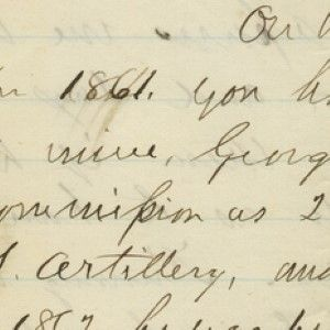 Millard Fillmore Asks Lincoln for a Favor; On the Back of the Letter, Lincoln Takes Steps to Oblige Him