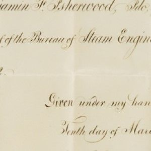 Abraham Lincoln's Appointment of Benjamin F. Isherwood, the Creator of the Steam Navy