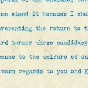 Taft, Running for President Against Theodore Roosevelt, Calls Him a