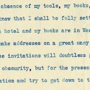 William Howard Taft Confesses He's