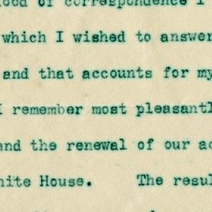 President-Elect Howard Taft Qualifies the Thought of a Four Year Term:
