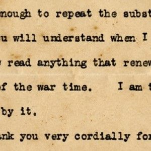 Woodrow Wilson on the Emotional Impact WWI Has Had on Him - Which Led to His Devastating Stroke