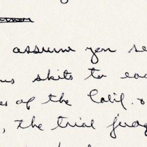 Reagan, Arguing for Capital Punishment, Discusses the Rabbinic Interpretation of the Sixth Commandment
