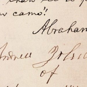 Both Parties Deprecated War: Lincoln's Second Inaugural Address Quote, In Autograph
