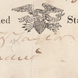 Excessively Rare Presidential Check Signed by Zachary Taylor