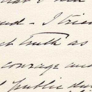 President William Howard Taft Praises President Grover Cleveland To Mrs. Cleveland