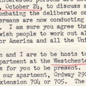 Secretary of Interior on Campaign to Stop German Annihilation of Jews -The Holocaust- During WWII