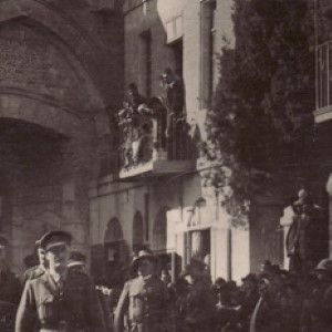 Signed Photo of Edmund Allenby Entering Jerusalem