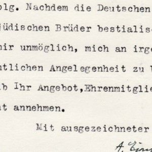 Einstein on the Holocaust: He Never Forgot, Never Forgave