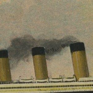 Titanic Postcard: Rare Postcard From the Titanic - Sent at Beginning of Voyage; Ship
