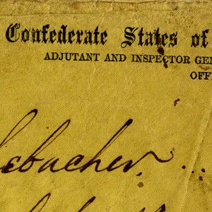 Robert E. Lee's Famous Letter Declining to Furlough, As a Rule, Jewish Confederate Troops for the High Holidays